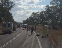 Hervey Bay boy, truck driver killed in crash near Rocky