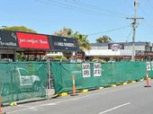 CONSTRUCTION of the bikeway on Brisbane Rd might be good for healthy lifestyles but it's killing business for shop owners on the busy street.