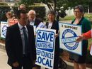 NSW Local Government Minister Paul Toole faces protest at LGNSW conference