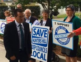 Minister thanks NSW councillors about to be sacked