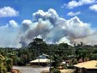 IMAGES of Gladstone's smoke clouds are flooding in on social media as bushfires burn to the city's west and south.
