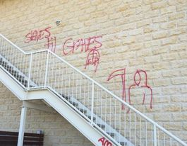 White supremacist vandals target indigenous centre