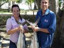 MEMBER for Keppel Brittany Lauga had her say on the implementation of net-free fishing zones on the Capricorn Coast in State Parliament last night.