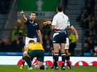 The question being asked immediately after Scotland was knocked out of the World Cup, was why referee Craig Joubert didn't check with the TMO on that penalty.