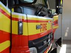 Patrolling officers stumble on 'suspicious' shed fire