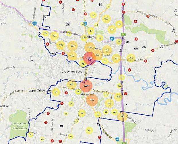 crime rate increases 10 times caboolture news