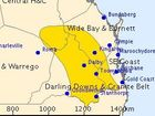 A SEVERE thunderstorm warning has been issued for Toowoomba, the Darling Downs and Granite Belt.