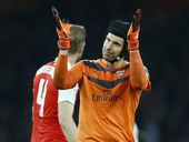 Arsenal goalkeeper Petr Cech has kept an equal-best five clean sheets in nine English Premier League games this season.