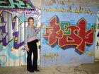 Residents say a hidden street art gallery in Mur'bah should be kept.