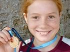 PINT-sized long jumper Faith Pittman, from Rappville, has earned huge accolades in Sydney, placing third at the All Schools State Championships in Homebush.