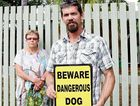 FIGHTING BACK: Matthew Tomkins is not happy with council blaming his dogs for a vicious dog attack