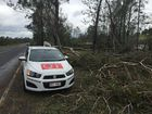 Six homes 'uninhabitable' after Fernvale super storm