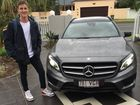 It's Mercedes all the way for Australian Olympic swimmer and Commonwealth gold medallist Cameron McEvoy
