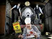A CENTURY-OLD steam train complete with ghouls, goblins and ghosts is set to delight families this Halloween.