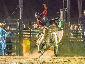 Bowen bull rider Beau Willis will compete at the Beef to Reef this weekend.
