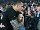 All Black Sonny Bill Williams has been presented with a winners medal at the World Rugby awards today after giving his original medal to a fan