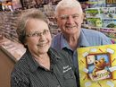 ALMOST a century of family involvement in Toowoomba newsagencies has come to a close with the retirement of popular newsagents John and Margaret Campbell.