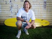 LONG board surfer Michael Thompson had decided there will be no more surfing in remote areas around Evans Head for him.