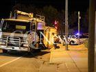Truck trailer rollover - Emerald