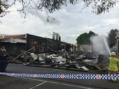 LOCKYER VALLEY Mayor Steve Jones says the fire that destroyed the Imperial Hotel would've been far worse if not for the quick response of the local fire brigade.