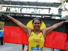 Eileen and nine other young Australians from the Indigenous Marathon Foundation were among 50,000 competitors who ran in the 2015 New York Marathon