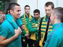 The Socceroos don't feel any extra pressure to win against Kyrgyzstan in Canberra on Thursday despite the loss to Jordan in the last World Cup qualifier.