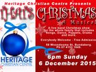 Heritage Christian Centre presents a live band show for the whole family that includes Songs, Dance, Puppets, Drama and more. Everybody welcome - Free admission