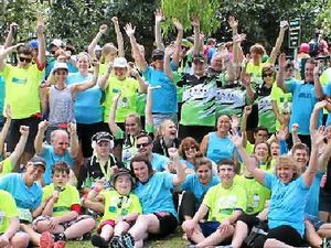 Team achieves personal best in Noosa Special Triathlon
