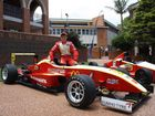 HE'S still too young to even hold a learner's licence, but Cameron Shields says he's ready to hit top speed in next year's Australian Formula 3 Championship.