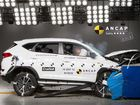 "HYUNDAI'S new Tucson medium SUV has scored a ""disappointing"" four-star ANCAP safety rating after crash testing a 2.0-litre GDi petrol two-wheel drive variant."