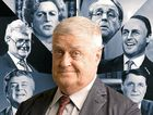 NO POLLIE'S SAFE: Max Gillies stars in the stage show Once Were Leaders.
