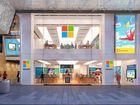 MICROSOFT has opened a two-storey, 6000 square metre flagship store in Sydney to show off Windows 10, new Surface devices and fitness wearables.