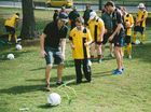 SOCCER enthusiasts of all ages and abilities are invited to hone their skills at a free Community Football Day next month.