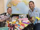 FRIENDS Sean Anstee and Colin Oakley are overwhelmed with the astonishing number of donations they received for their volunteer trip to Cambodia this Friday.