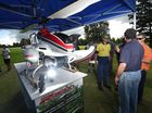 A NEWLY launched unmanned helicopter could have huge farming and weed control potential for the Northern Rivers.