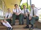 IT'S the week they've been waiting for all year. Graduating is high on these four students' priority lists, although Schoolies week is likely to be higher.