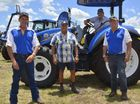 MORE than 100 people attended the opening day of David Evans Group's three-day-long celebration of its 60-year association with New Holland.
