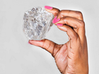 THE world's second largest diamond has been discovered in Botswana – and it is the size of a tennis ball.