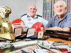 THERE might be a faint hint of smoke in the air over the North Ipswich corporate centre this weekend, as generations of the city's firefighting heroes unite.