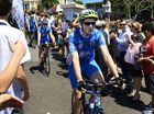 MOTORISTS travelling along the Pacific Highway on their way to the Gold Coast yesterday would have noticed a group of 15 young cyclists.