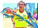 SURF LIFESAVING: A trio of New Zealanders will compete in the Nutri-Grain Ironman and Ironwoman Series this summer.