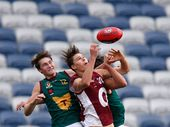Rising star Eric Hipwood has been hot property in the lead-up to tonight's National Draft in Adelaide.
