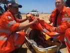 CAPRICORNIA Coast Marine Rescue groups came together off the coast of Gladstone on Saturday