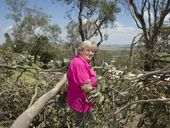 <strong>UPDATE: </strong>Savage storms that lashed the Darling Downs, tearing roofs from houses and bringing down trees, are tipped to make a return.