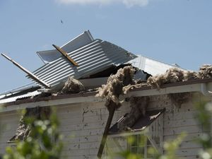 Gowrie residents clean up in wake of storm