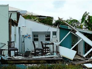 TC MARCIA: A house in Yeppoon after Cyclone Marcia.