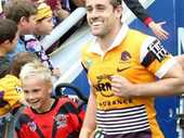 THE Brisbane Broncos will travel to Dalby next month to go head-to-head with locals in what will be the touch football game of the year.