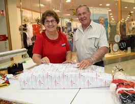 Rockhampton couple have christmas volunteering covered