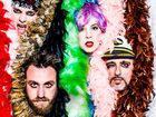 BRISBANE'S quixotic glamour rock outfit, Bertie Page Clinic, are back and are ready to launch their third LP in Ipswich.