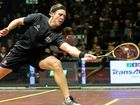 Former Evans Head squash player Ryan Cuskelly showcased some great form throughout November.